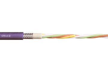 chainflex® cable de bus CF11.LC.D