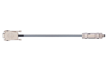 readycable® cable de codificador similar a Festo KDI-MC-M8-SUB-9xxx, cable base PVC 10 x d